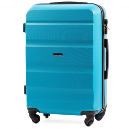 AT01, Middle size suitcase Wings M, Cyan