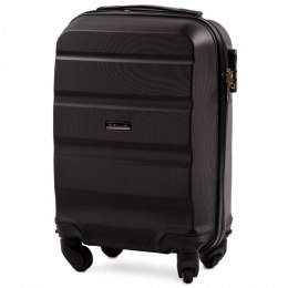 AT01, Small cabin suitcase Wings XS, Black