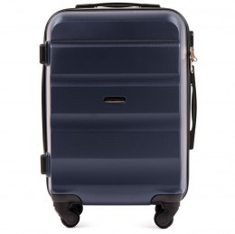 AT01, Cabin suitcase Wings S, Blue