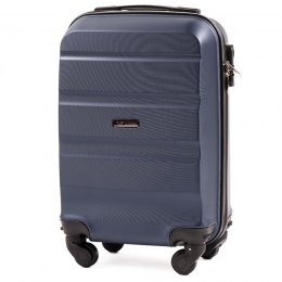 AT01, Small cabin suitcase Wings XS, Blue