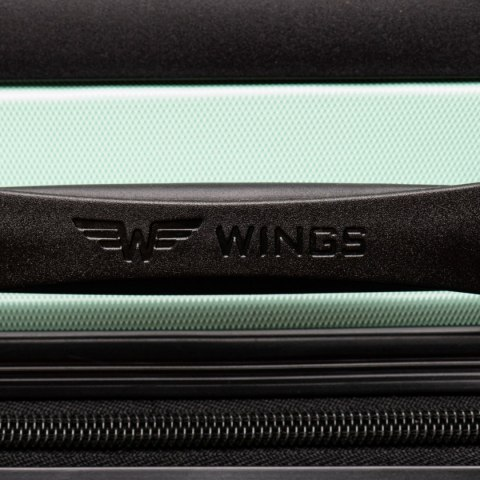AT01, Small cabin suitcase Wings XS, Dark grey