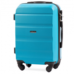 AT01, Cabin suitcase Wings S, Cyan