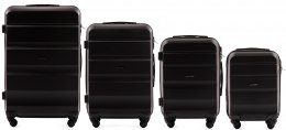 AT01, Luggage 4 sets (L,M,S,XS) Wings, Black