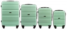 AT01, Luggage 4 sets (L,M,S,XS) Wings, Light green
