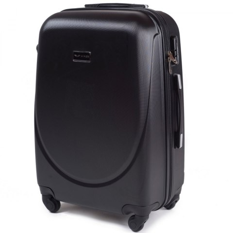 K310, Large travel suitcase Wings L, Black