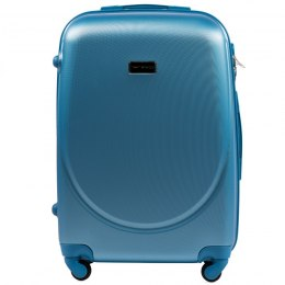 K310, Middle size suitcase Wings M , Silver blue