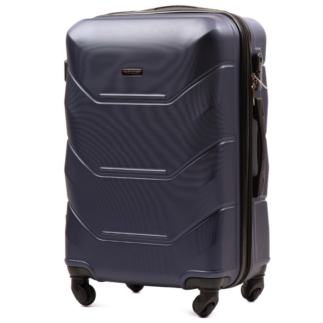 147, Middle size suitcase Wings M, Blue