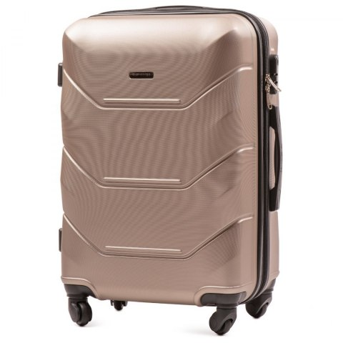 147, Middle size suitcase Wings M, Champagne