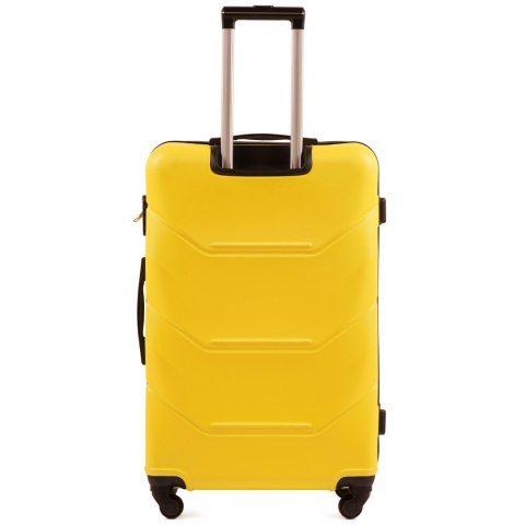 147, Middle size suitcase Wings M, Yellow