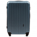2011, Large travel suitcase Wings L, Silver blue