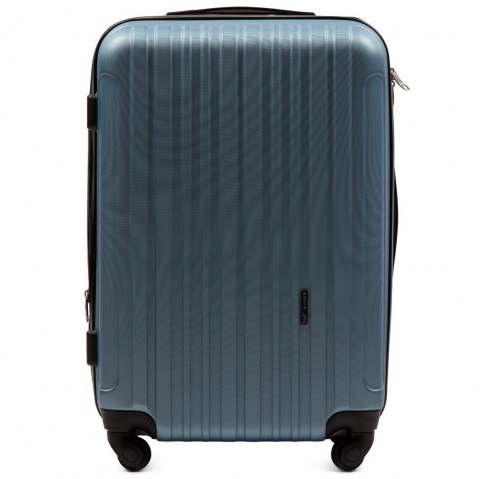 2011, Middle size suitcase Wings M, Silver blue