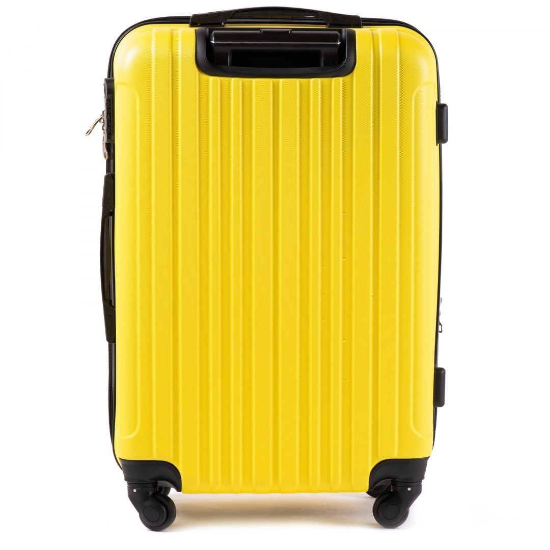 2011, Middle size suitcase Wings M, Yellow