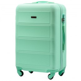 203, Middle size suitcase Wings M, Light green