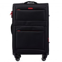 2861, Medium suitcase super light Wings M, Black