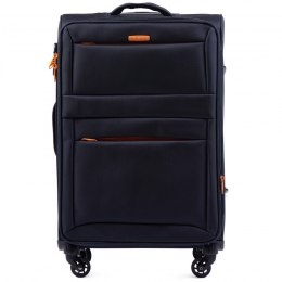 2861, Medium suitcase super light Wings M, Blue