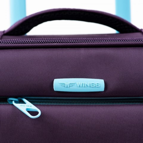 2861, Cabin suitcase super light Wings S, Dark grey
