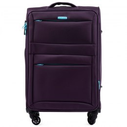 2861, Cabin suitcase super light Wings S, Dark purple