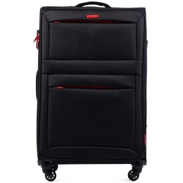 2861, Large super-light suitcase Wings L, Black