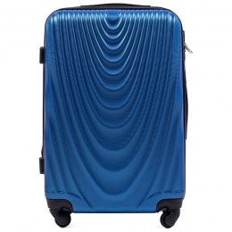 304, Middle size suitcase Wings M, Middle blue