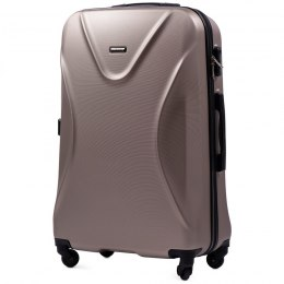 518, Large travel suitcase Wings L, Champagne