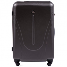 888, Large travel suitcase Wings L, Dark grey
