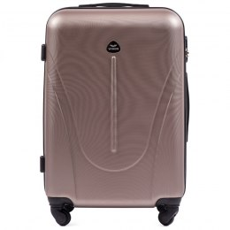 888, Middle size suitcase Wings M, Champagne