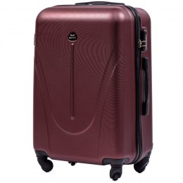 888, Middle size suitcase Wings M, Dark red