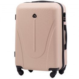 888, Middle size suitcase Wings M, Dirty white