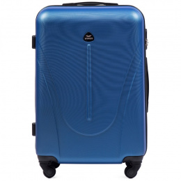 888, Middle size suitcase Wings M, Middle blue