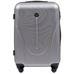 888, Middle size suitcase Wings M, Silver