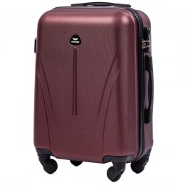 888, Cabin suitcase Wings S, Dark red