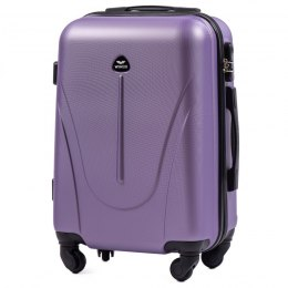 888, Cabin suitcase Wings S, Silver purple