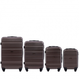AT01, Luggage 4 sets (L,M,S,XS) Wings, Coffee