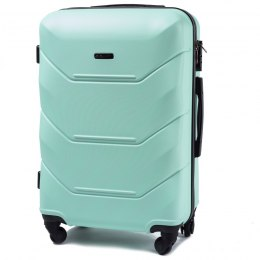 147, Middle size suitcase Wings M, Light green