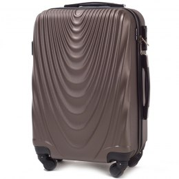 304, Middle size suitcase Wings M, Coffee
