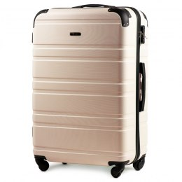 608, Large travel suitcase Wings L, Dirty white