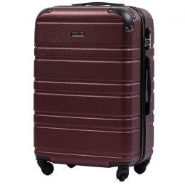 608, Middle size suitcase Wings M, Burgundy