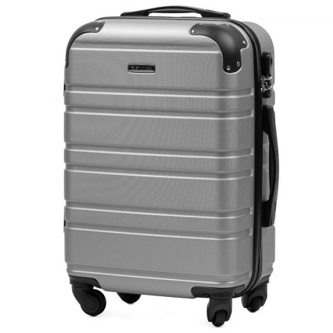 608, Cabin suitcase Wings S, Rose red