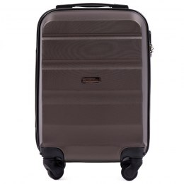 AT01, Small cabin suitcase Wings XS, Coffee