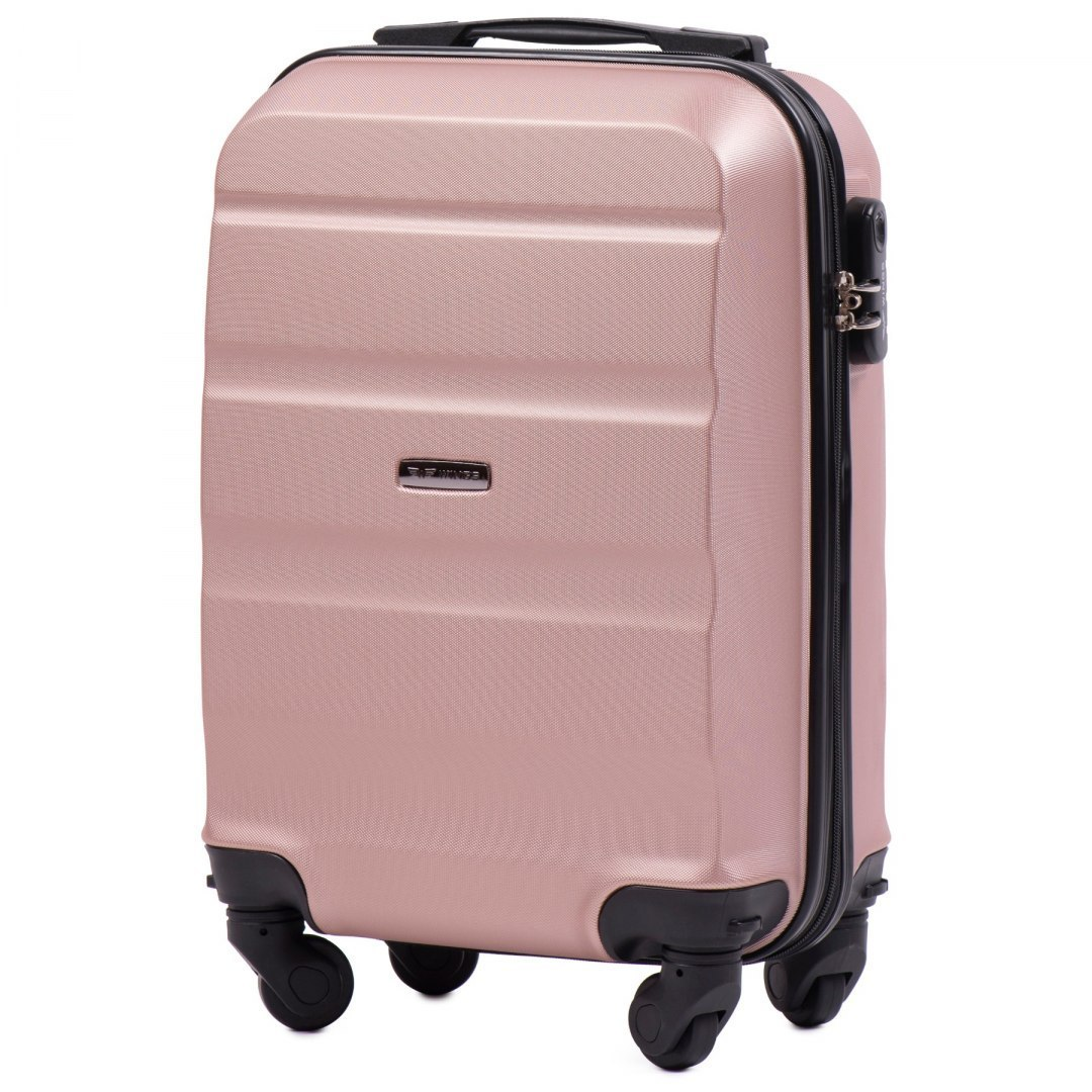 AT01, Small cabin suitcase Wings XS, Rose Gold
