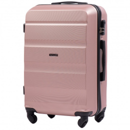 AT01, Middle size suitcase Wings M, Dirty white