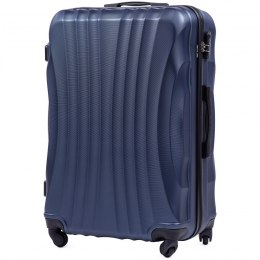 159, Large travel suitcase Wings L, Blue