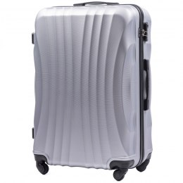 159, Large travel suitcase Wings L, Silver