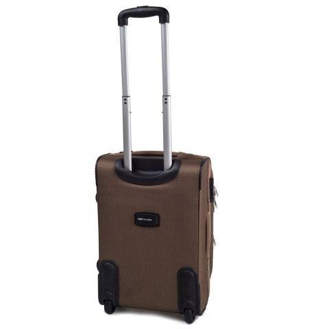 1708(2), Cabin soft travel suitcase 2 wheels Wings S, Double yellow