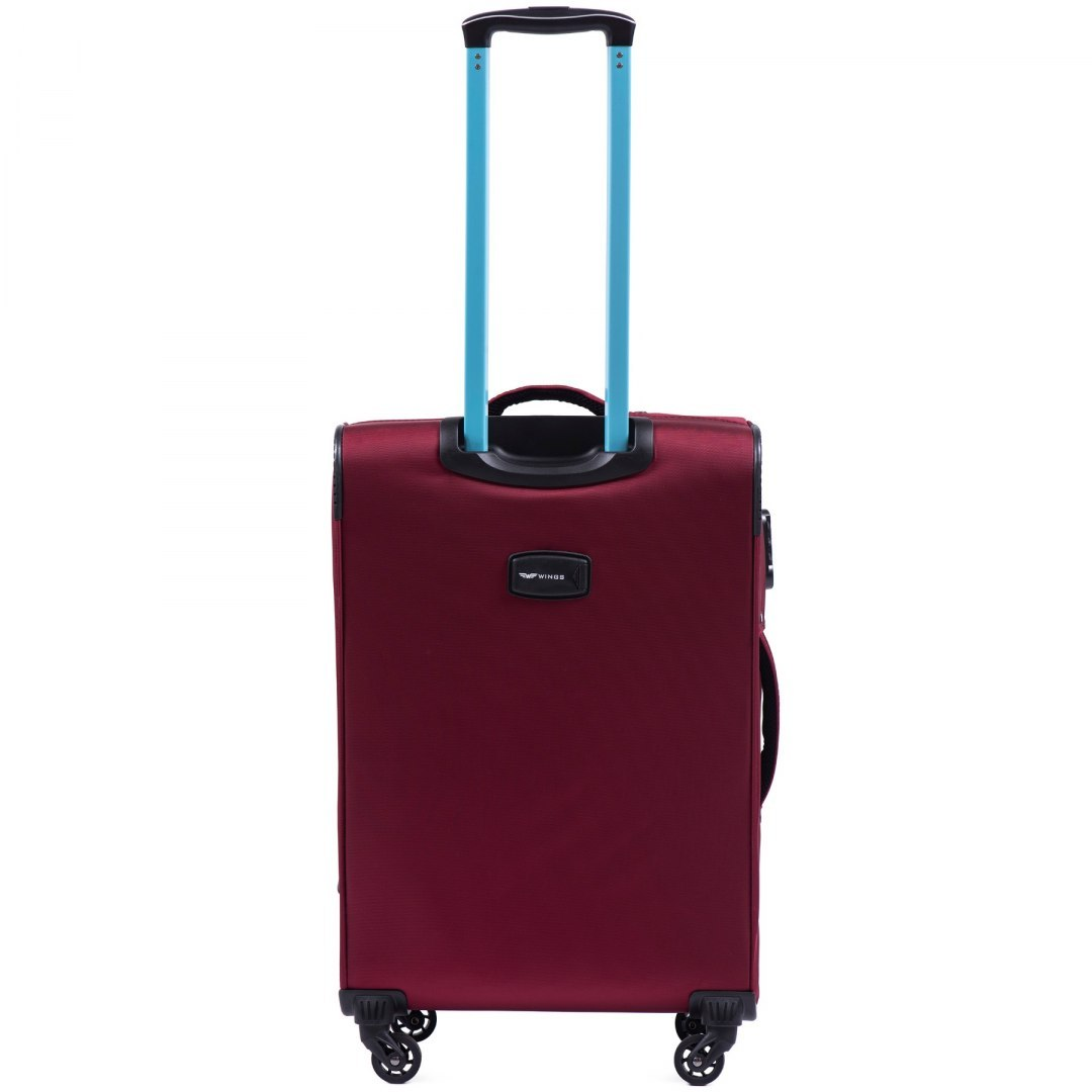 2861, Medium suitcase super light Wings M, Dark red