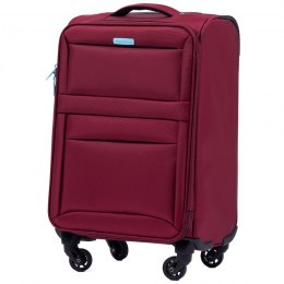 2861, Cabin suitcase super light Wings S, Dark red