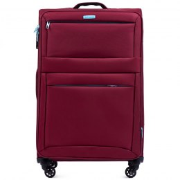 2861, Sets of 3 suitcases Super light Wings 4 wheels L,M,S, Dark red