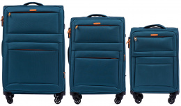 2861, Sets of 3 suitcases Super light Wings 4 wheels L,M,S, TOURQUSE