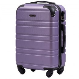 608, Cabin suitcase Wings S, Silver purple