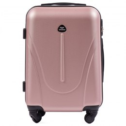 888, Small cabin suitcase Wings XS, Rose gold